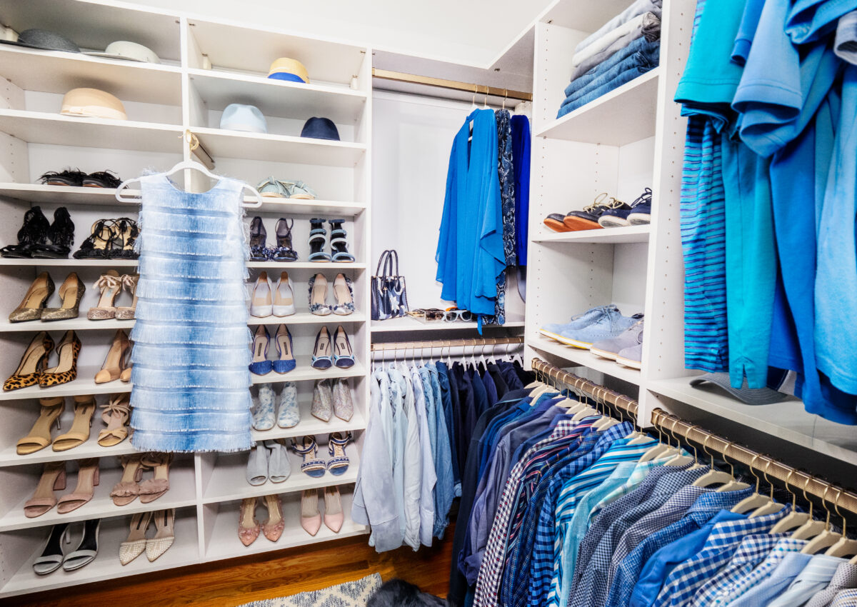 Master Closet Before & After: California Closets